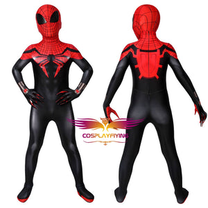 Marvel Kids Cosplay Superior Spider-Man Jumpsuit Child Size Cosplay Costume
