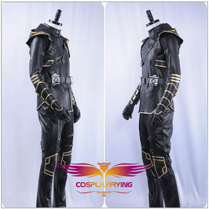 Marvel 2019 Film Avengers: Endgame Hawkeye Cosplay Costume Men Adult Halloween Carnival Outfit Full Set