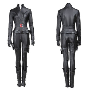 Marvel Avengers 1 Black Widow Natasha Romanoff Cosplay Costume for Halloween Carnival