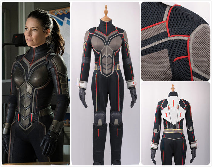 Marvel Avengers Ant-Man the Wasp Cosplay Costume Halloween Carnival Female Women Suit Jumpsuit