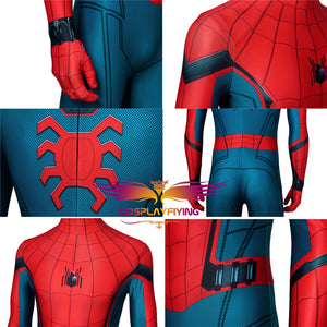 Marvel Avengers Captain America Civil War Spider-Man Homecoming Far From Home Spiderman Cosplay Costume