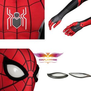 Marvel Avengers Spider-Man Far From Home Peter Parker Cosplay Costume Full Set for Halloween Carnival