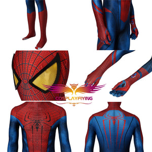 Marvel Avengers The Amazing Spider-Man Spiderman Peter Parker Cosplay Costume for Halloween Carnival