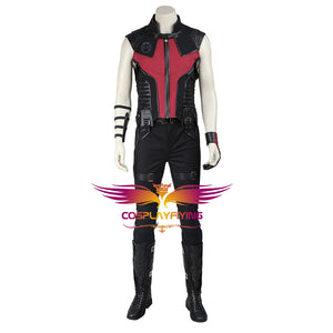 Marvel Comics Avengers Hawkeye Clinton Barton Cosplay Costume for Halloween Carnival