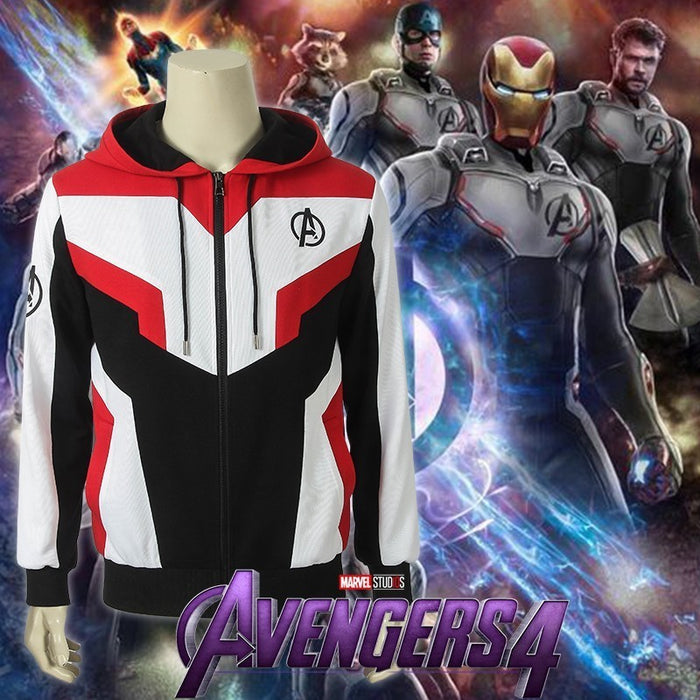 Marvel Comics Avengers Quantum Realm Team Hoodie Cosplay Costume Version B for Halloween Carnival