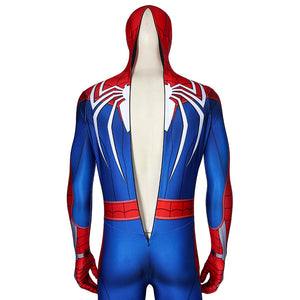 Marvel Comics Avengers Spiderman PS4 Peter Parker Cosplay Costume Jumpsuit for Carnival Halloween