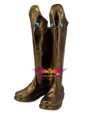 Marvel Movie Spider-Man: Far From Home Mysterio Quentin Beck Cosplay Shoes Boots Custom Made Adult Men Women Halloween Carnival