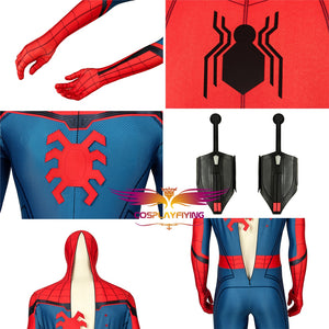 Marvel Spider-Man Far From Home Peter Parker Jumpsuit Avengers Cosplay Costume Full Set for Halloween Carnival