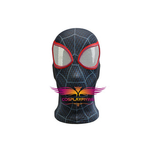 Marvel Spider-Man: Into the Spider-Verse Miles Morales Cosplay Costume for Halloween Carnival