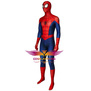 Marvel Ultimate Spider-Man Season 1 Peter Parker Jumpsuit Cosplay Costume for Halloween Carnival
