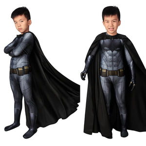 Movie Kids Cosplay Batman v Superman: Dawn of Justice Batman Bruce Wayne Jumpsuit Child Size Cosplay Costume