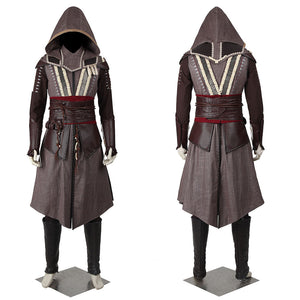 Movie Assassin's Creed Callum Lynch Cosplay Costume Full Set Custom Made for Halloween Carnival