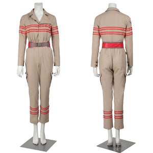 Movie Ghostbusters 3 Jumpsuit Cosplay Costume Full Set Outfit for Halloween Carnival