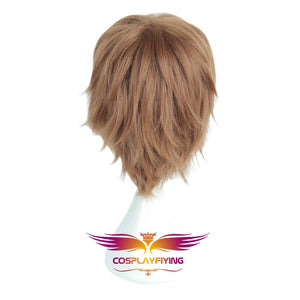 Movie Magic Harry Potter Ron Weasley Short Brown Cosplay Wig Cosplay Prop for Boys Adult Men Halloween Carnival Party