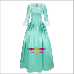 Musical Rock Opera Hamilton Elizabeth Schuyler Eliza the Schuyler Sisters Dress Cosplay Costume