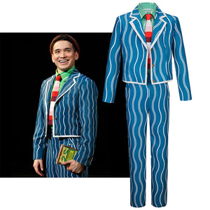 Musical Wicked Boq Cosplay Costume Consert Stage Uniform for Carnival Halloween