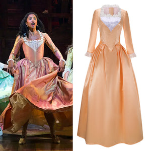 Musical Rock Opera Hamilton Angelica Stage Dress Concert Cosplay Costume Custom Made Carnival Halloween