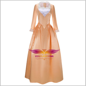 Musical Rock Opera Hamilton Angelica the Schuyler Sisters Dress Cosplay Costume Carnival Halloween