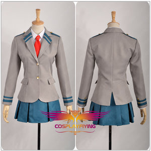 My Hero Academia/Boku no Hero Academia Uraraka Ochako Cosplay Costume Custom Made for Girls Adult Women Outfit Carnival Halloween