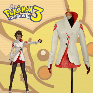 Pokemon Go Team Valor Candela Cosplay Red PU Fashion Costume For Adult For Halloween Carnival