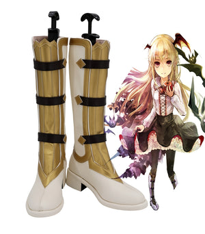 RPG Game Granblue Fantasy Vampy Cosplay Shoes Boots Custom Made for Adult Men and Women Halloween Carnival