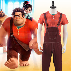 Ralph Breaks the Internet: Wreck-It Ralph 2 Ralph Adult Men Halloween Cosplay Costume