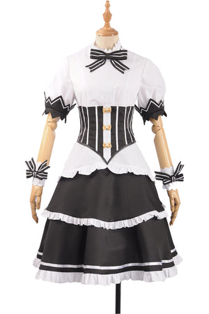 Re:Zero/Re:Life in a Different World from Zero Ram Maid Outfit Cosplay Costume Dress