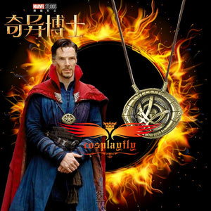 Avengers Doctor Strange Infinity War Dr. Stephen Amulet Eye Agamotto Pendant 4 Necklaces