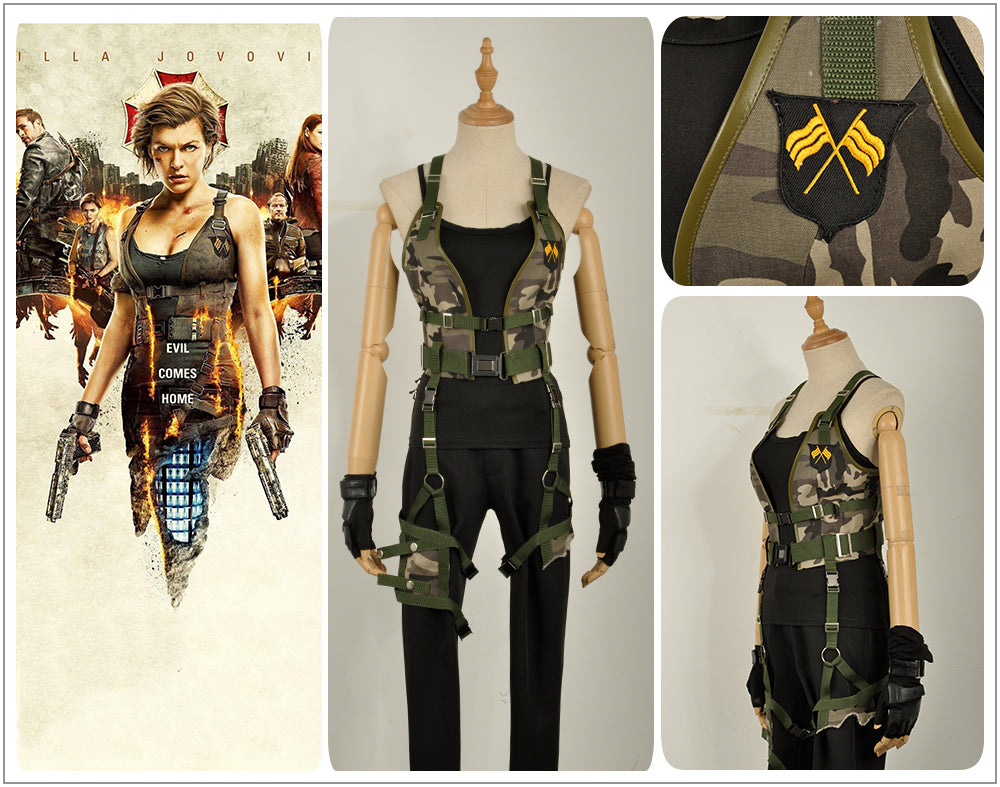 Cosplayflying Buy Resident Evil The Final Chapter Alice Cosplay