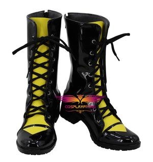 SLG Game Girls Frontline UMP9 Cosplay Shoes Boots Custom Made for Adult Men and Women Halloween Carnival