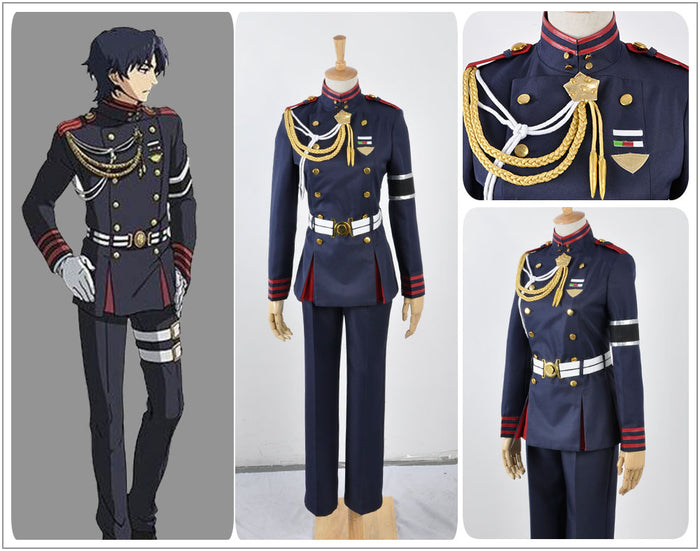 Seraph of the End Guren Ichinose Cosplay Costume Adult Men Outfit Full Set