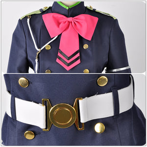 Seraph of the End Shinoa Hiragi Cosplay Costume Adult Women Outfit Uniform Full Set