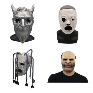 Slipknot Mask Event Corey Taylor Cosplay Latex Mask Halloween Slipknot Mask Adult party Costume Props