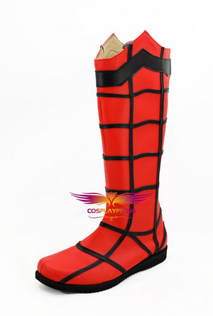 Spider-Man:Homecoming Spider-Man Peter Parker Cosplay Shoes Boots Custom Made for Adult Men and Women