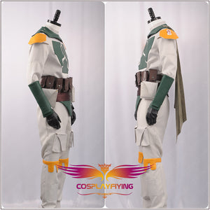 Star Wars Boba Fett Fighter Suit with Armor Halloween Carnival Cosplay Costume For both Adult Men and Women