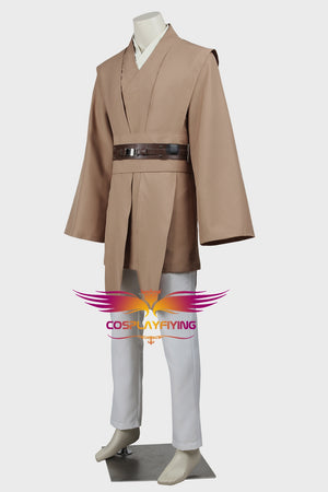 Star Wars Mace Windu Jedi Knight Battle Robe Cosplay Costume Full Set for Halloween Carnival
