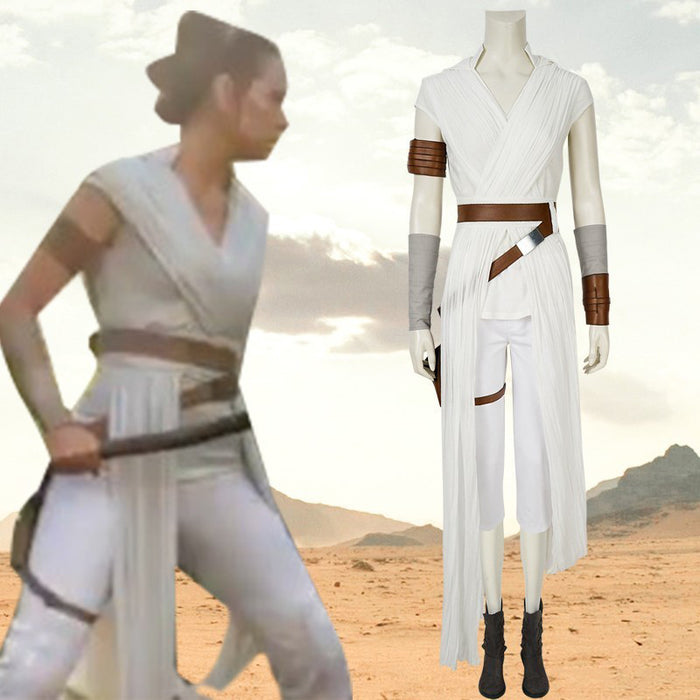 Star Wars: The Rise of Skywalker Rey Cosplay Costume Version B for Carnival Halloween