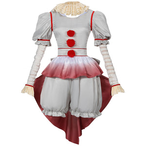 Stephen King's It Sailor Moon Joker Pennywise Horror Cosplay Costume for Halloween Carnival Outfit