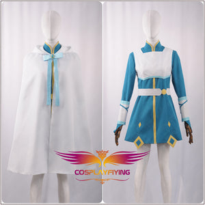 Sword Art Online Alicization YUNA Battle Stage Girls Woman Dress Cosplay Costume Adult Outfit