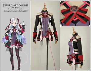 Sword Art Online the Movie: Ordinal Scale YUNA Cosplay Costume Adult Women Outfit