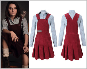 TV Series His Dark Materials Lyra Balacqua Cosplay Costume Custom Made Adult Halloween Carnival Party