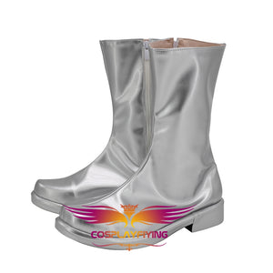 TV Seriers Ultraman Cosplay Shoes Boots Custom Made for Adult Men and Women Halloween Carnival