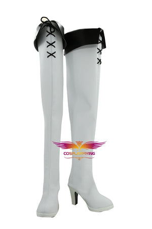 TV Series Anime Akame ga KILL Esdeath Cosplay Shoes Boots Custom Made for Adult Men and Women Halloween Carnival