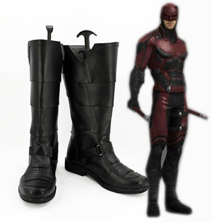 TV Series Daredevil Matt Murdock Cosplay Shoes Boots Custom Made for Adult Men and Women