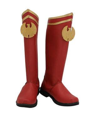 TV Series The Boys Season 1 Homelander Cosplay Shoes Boots Custom Made for Adult Men and Women Halloween Carnival
