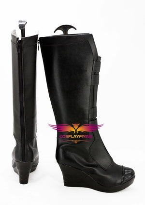 The Avenger Black Widow Natasha Romanoff Cosplay Shoes Boots Custom Made for Adult Men and Women