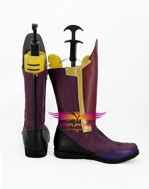 The Avengers Vision Cosplay Shoes Boots Custom Made for Adult Men and Women