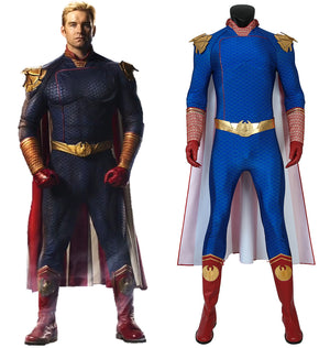 The Boys Season 1 The Homelander Full Set Cosplay Costume for Halloween Carnival