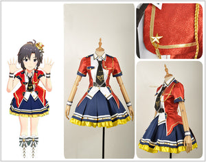 The Idolmaster Million Live Theater Days Cosplay Costume Custom Stage Costume Jacket Dress