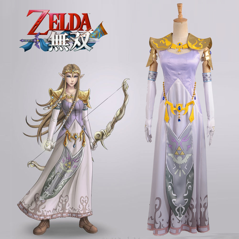 The Legend Of Zelda Hyrule Warriors Zelda Muso Princess Zelda Cosplay Costume Full Set